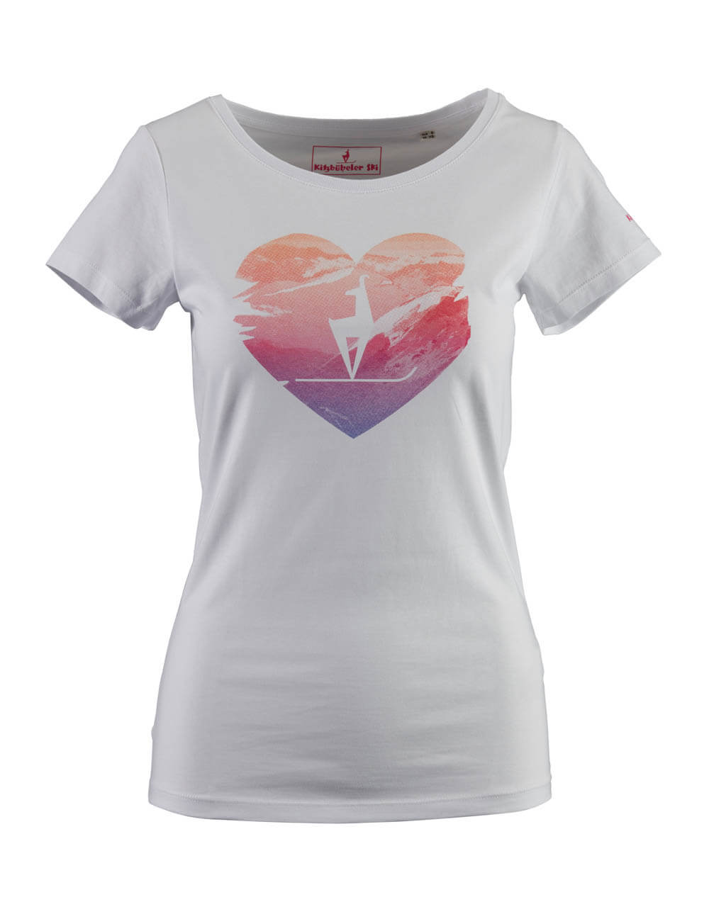 681736100 Damen T-Shirt weiss heart