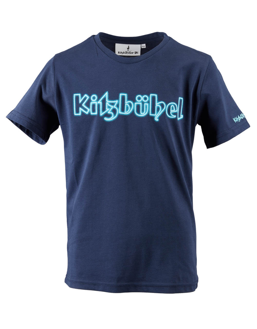 680101350 Kinder T-Shirt neon