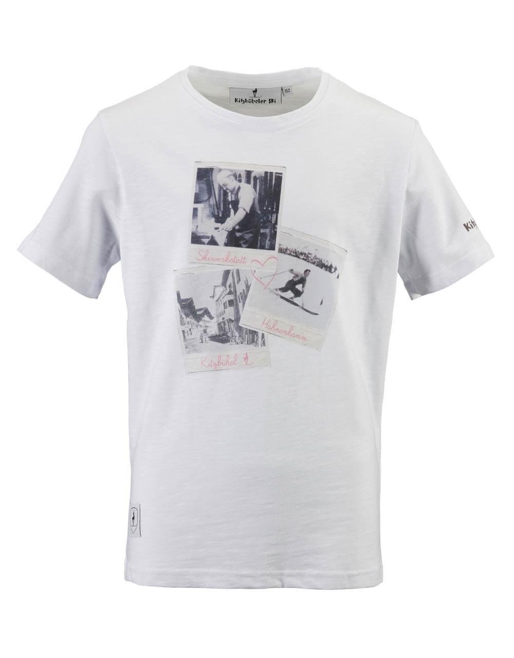 680107600 Kinder T-Shirt weiss Foto