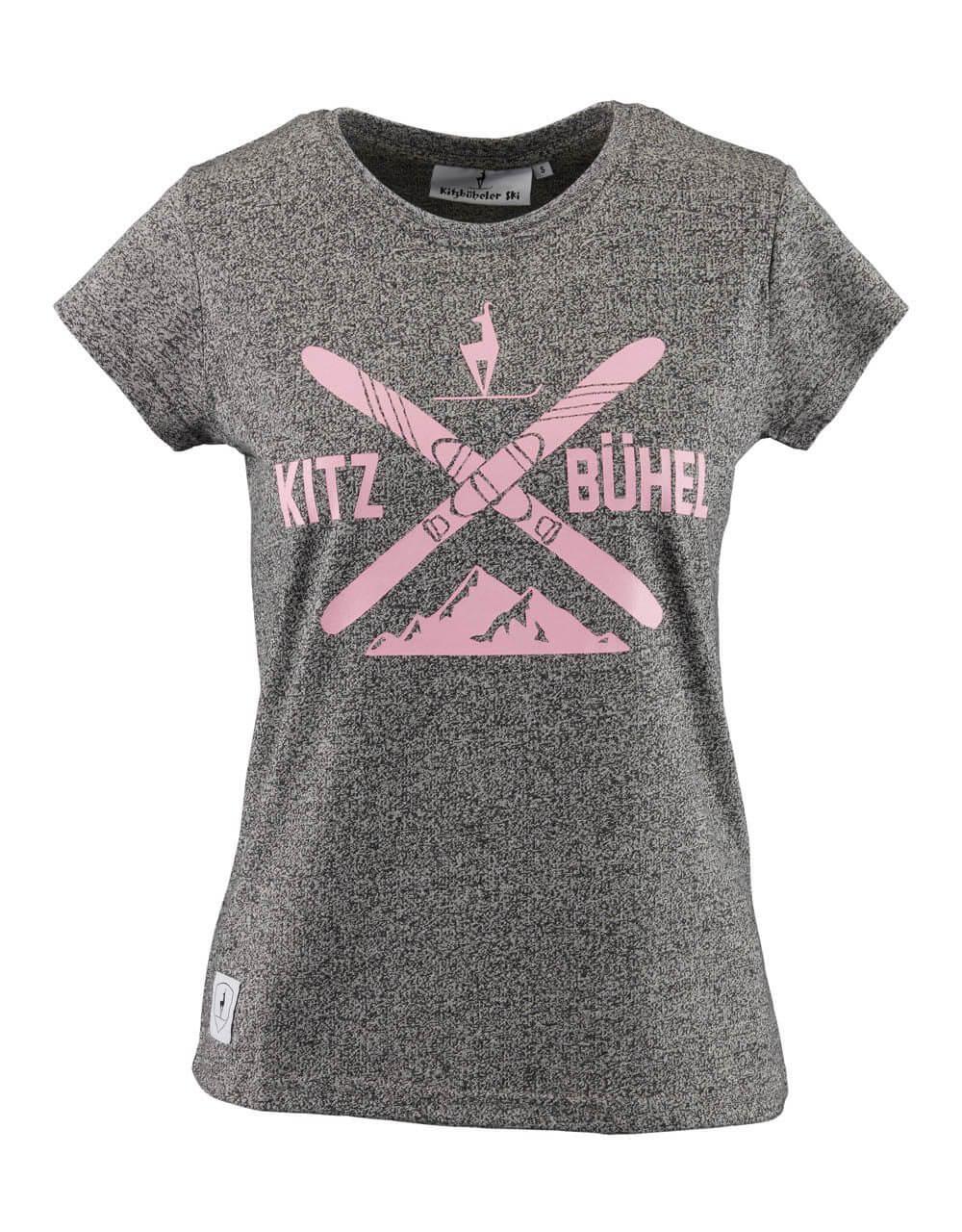 681524115 Damen T-Shirt grau