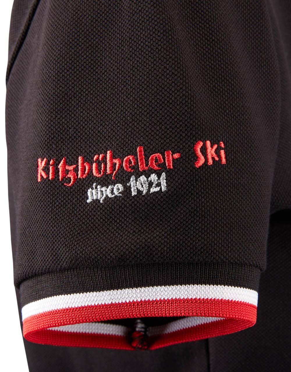 689126410 Damen Polo schwarz