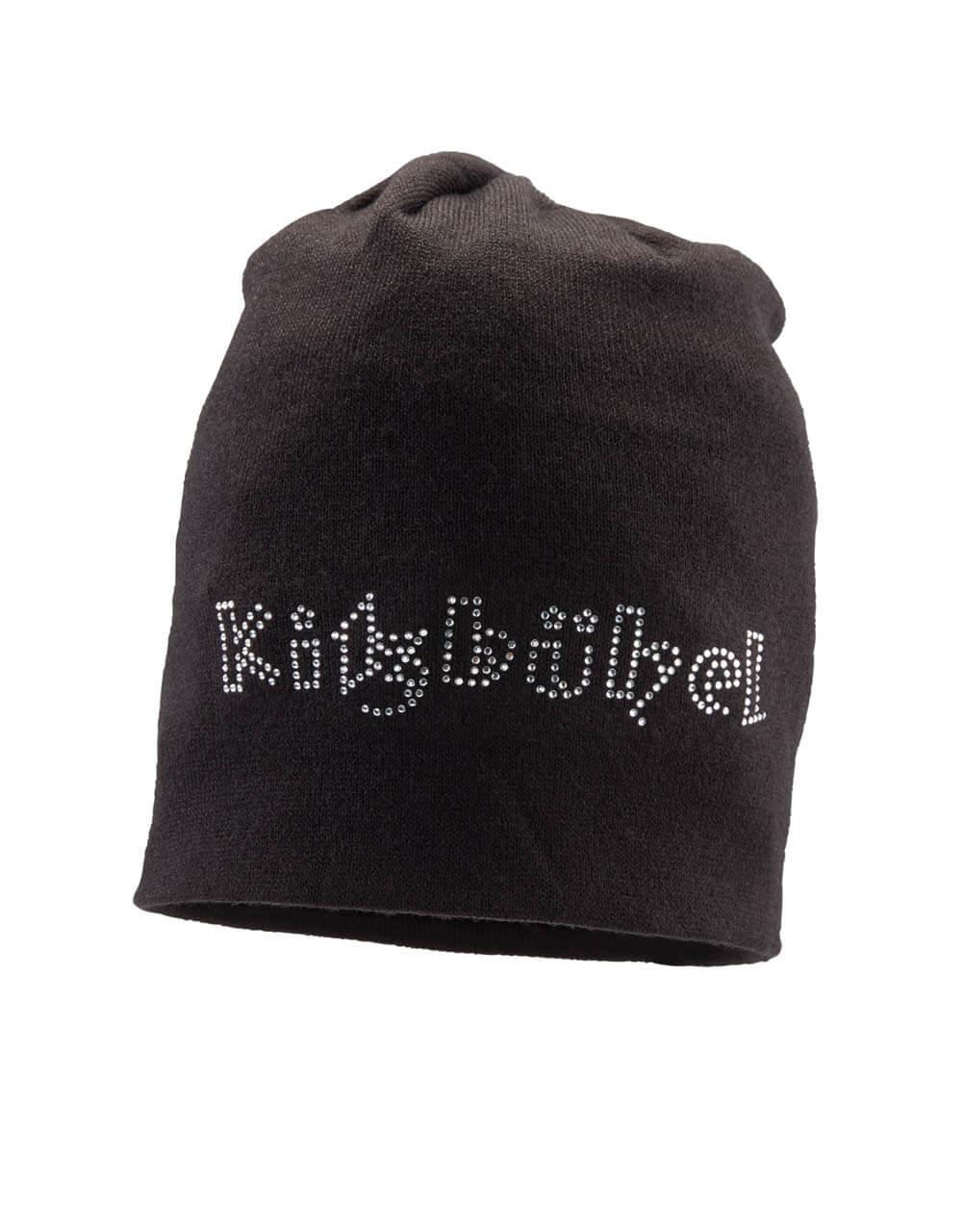701236010 Damen Mütze schwarz glitzer