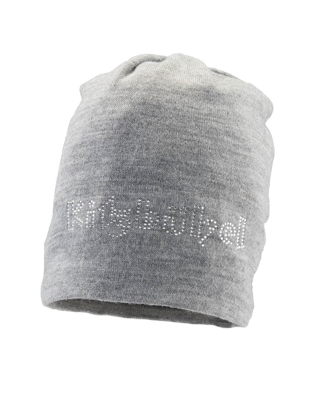 701236015 Damen Mütze grau glitzer