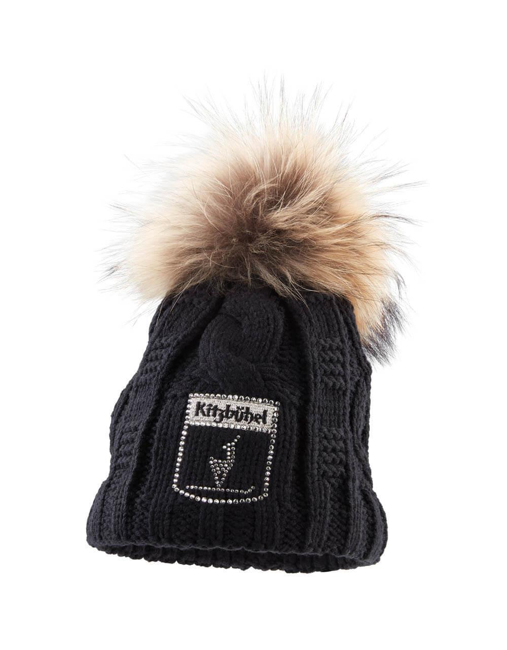 701238110 Damen Mütze Swarovski schwarz