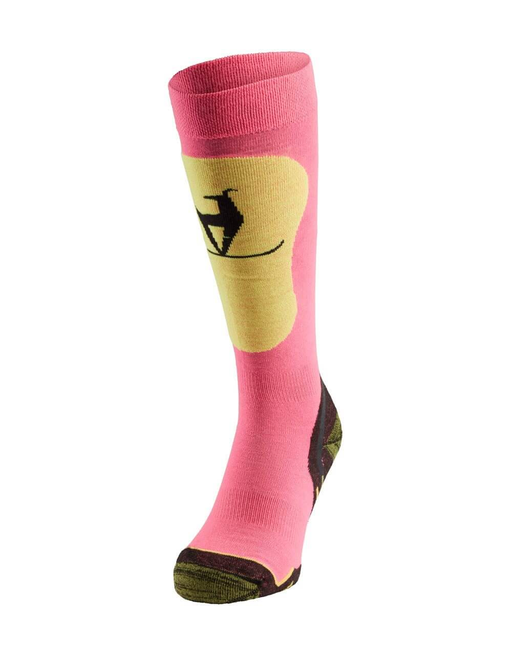 726038232 Skisocken Damen neon pink