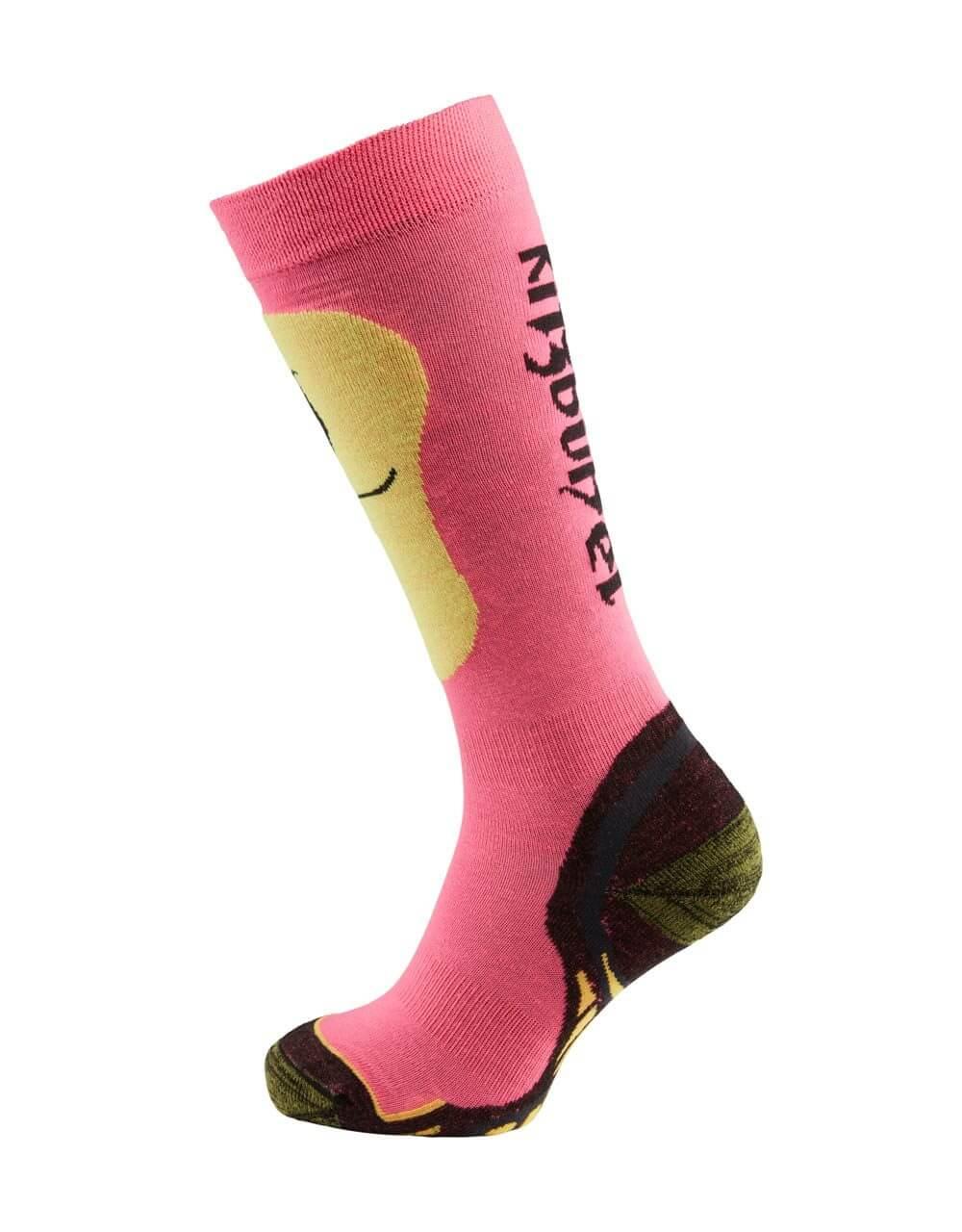 726038232 Skisocken Damen neon pink 2