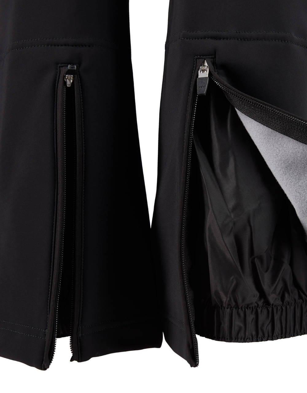811151610 Damen Softshellhose schwarz