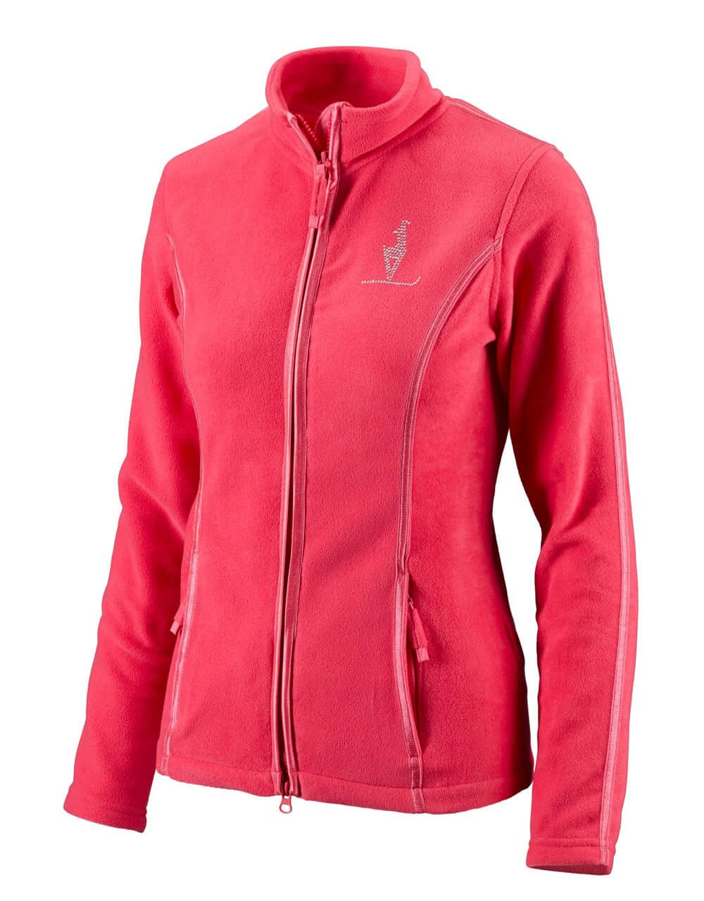 687415732 Damen Fleecejacke pink