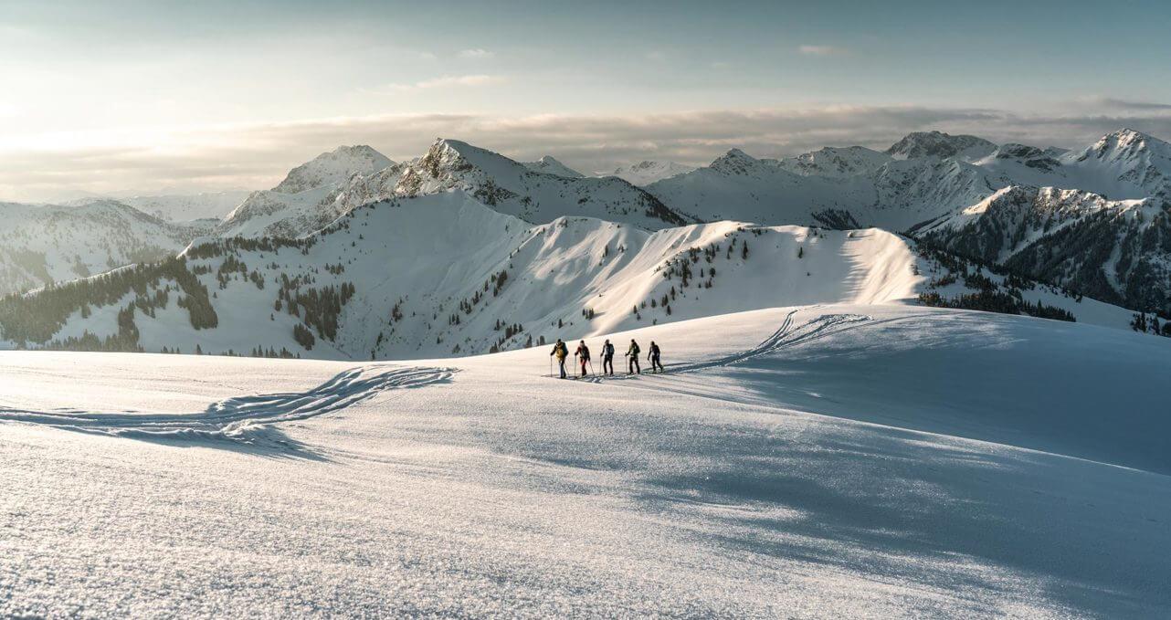 Kitzsport skitouren Panoramablick Kitzbühel