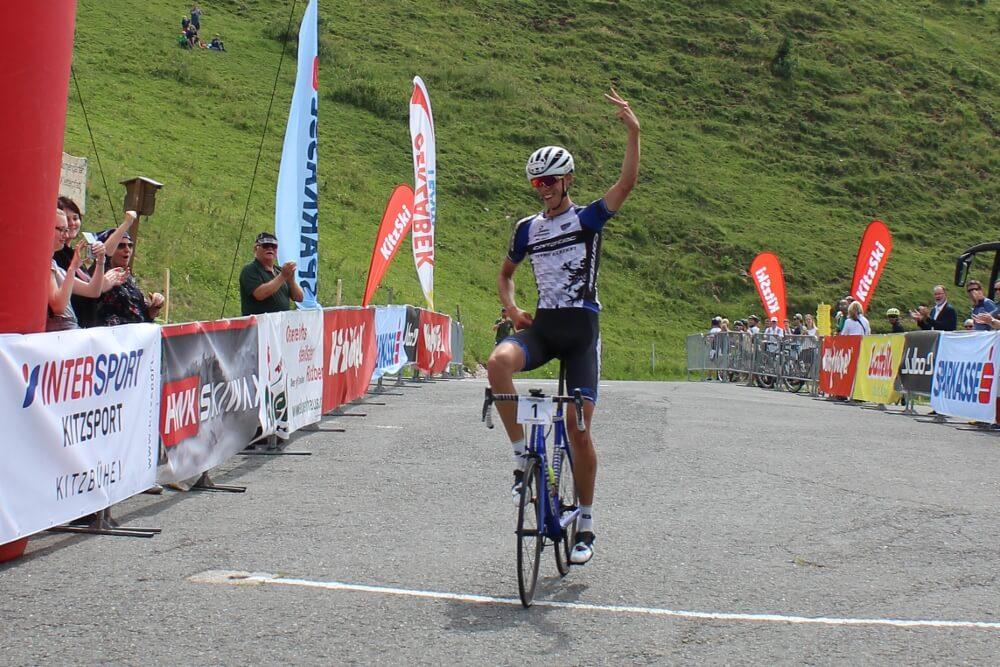 Siegeseinfahrt beim 39.int. Hornradrennen